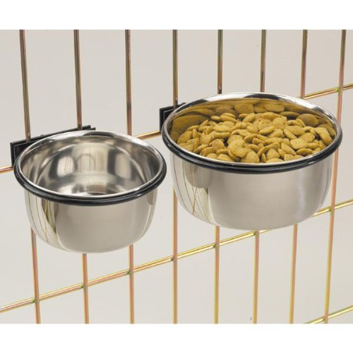 ProSelect Stainless Steel Coop Cups – Versatile Coop Cups for Pet and Animal Cages, 16-Ounce