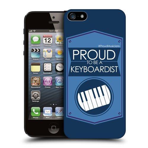 Head Case Designs キーボード奏者 プラウド・ミュージシャン ハードバックケース Apple iPhone 5 / 5s