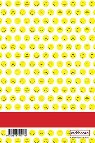 Etchbooks Bryson, Emoji, College Rule, 6 X 9', 100 Pages
