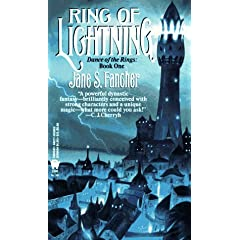 Ring of Lightning (Dance of the Rings) by Jane S. Fancher