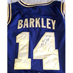 Charles Barkley Autographed 1992 Dream Team Olympic Blue & Gold #14 Jersery JSA...