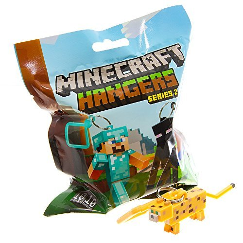 Official Minecraft Exclusive OCELOT Toy Action Figure Hanger - 1