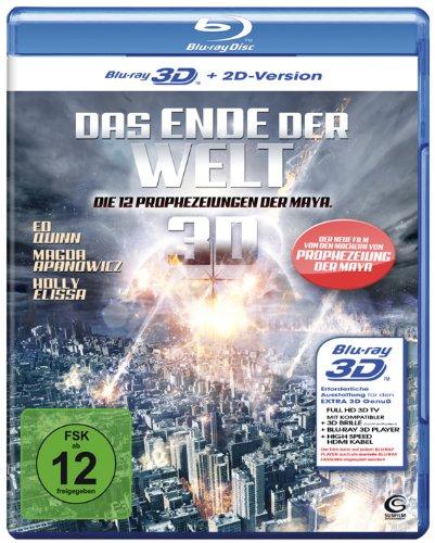 Das Ende der Welt - Die 12 Prophezeiungen der Maya (12 Disasters of Christmas) [3D Blu-ray + 2D Version]