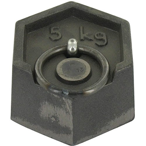 Poids hexagonaux en fonte - 5 kg