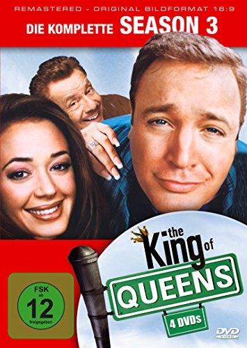 The King of Queens - Season 3 [4 DVDs]