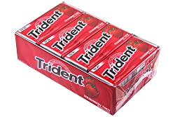 Trident Val U Pak Strawberry Twist 12 Packs