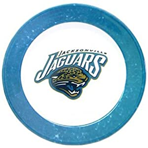 Jacksonville Jaguars 4 Piece Dinner Plate Set