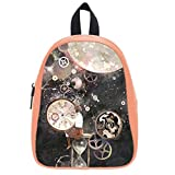 Creative Time Space Soft PU Backpack School Bag