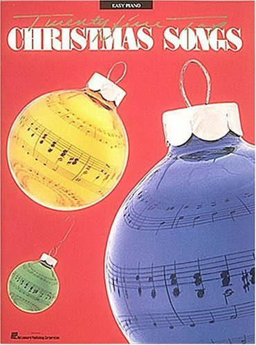 25 Top Christmas Songs Easy Piano