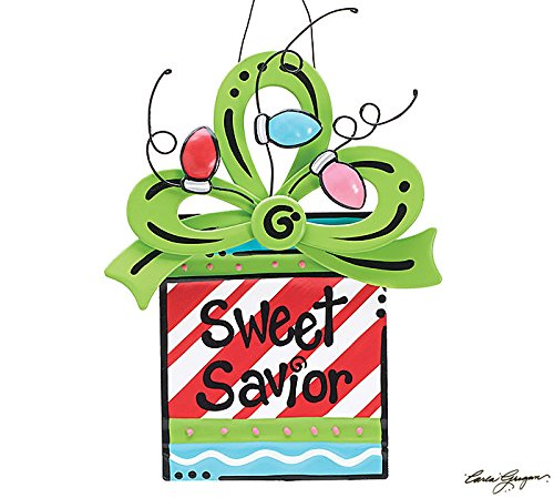 Sweet Savior Christmas Tree Ornament – Xmas Holiday Novelty Hanging Decoration
