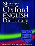 img - for Shorter Oxford English Dictionary book / textbook / text book