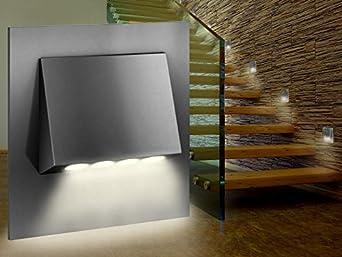led wand einbau leuchte treppen leuchte narva edelstahl geb rstet oder graphit schwarz passt. Black Bedroom Furniture Sets. Home Design Ideas