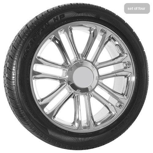 22 inch Chrome Escalade Wheels and Tires