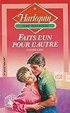echange, troc Cathie Linz - Faits l'un pour l'autre : Collection : Harlequin série tentation n° 169