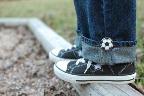My Hikes--Adjust kids pant legs! (Soccer Ball) - 1