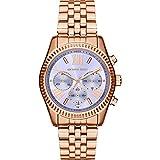 Michael Kors Watches Lexington Chronograph Stainless Steel Watch
