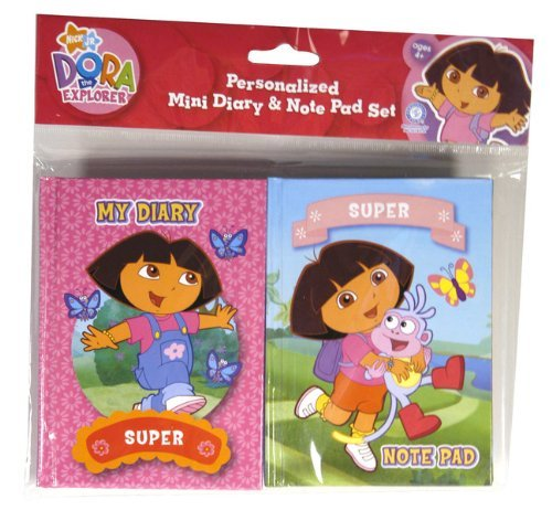 Dora The Explorer Diary & Notepad Set