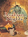 img - for Arabian Nights Illustrated: Art of Dulac, Folkard, Parrish and Others (Dover Fine Art, History of Art) book / textbook / text book