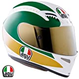 AGV T-2 Motorcycle Helmet Giacomo Agostini Replica 3X AGV SPA &#8211; ITALY 0351O1A0002012