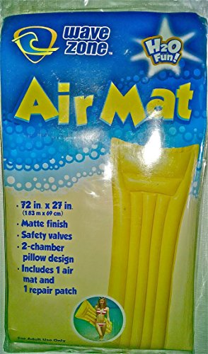 Wave Zone Air Mat - Yellow