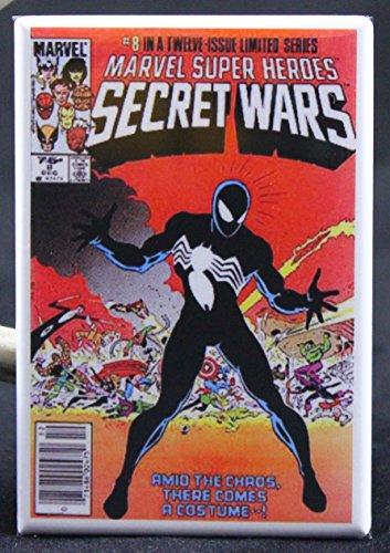 Marvel Secret Wars #8 Comic Book Cover Refrigerator Magnet. (Marvel Magnets compare prices)