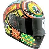 AGV GP-Tech Elements Helmet - Large/Yellow/Orange