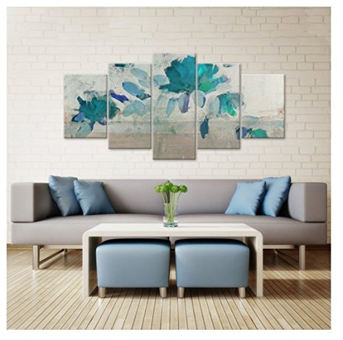 contemporary-decorative-painted-petals-iv-b-5-piece-canvas-wall-art-set
