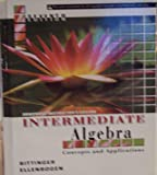 img - for INTERMEDIATE ALG.:CONC.+APPL.> book / textbook / text book