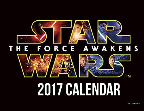 スター・ウォーズ/フォースの覚醒 2017年 カレンダー 卓上