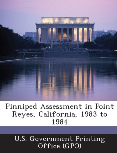 Pinniped Assessment in Point Reyes, California, 1983 to 1984
