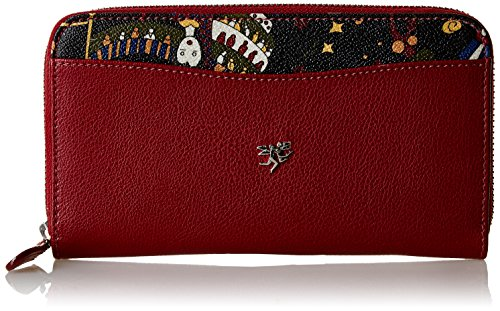 Piero Guidi Magic Circus Pelle Organizer Borsa, 19 cm, Carcade'