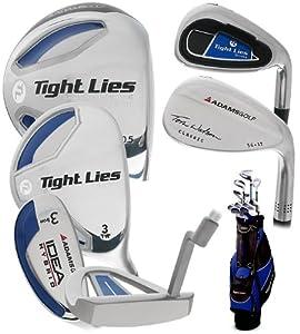 Adams Tight Lies 1014 Plus 13-Piece Golf Set (Right Handed, Apollo Steel, Grafalloy ProLaunch Shaft, Regular)