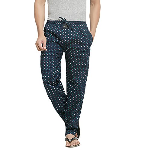 London-Bee-Mens-Cotton-Butterfly-Print-Pyjama-Lounge-Pant