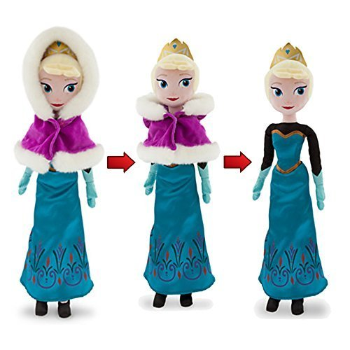 Official Disney Frozen 52cm Elsa The Snow Queen Winter Soft Plush Toy
