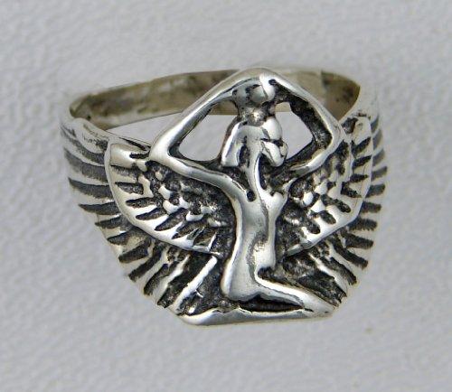 Nefertiti Ring is Sterling Silver...Made in America