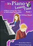 Its Piano Lesson Time Book 1