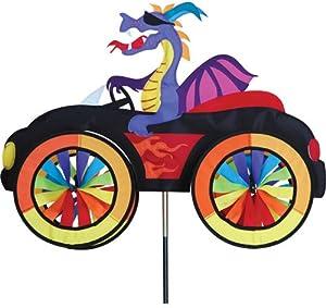 Premier Kites Car Wind Spinners 3D Lawn Art Dragon