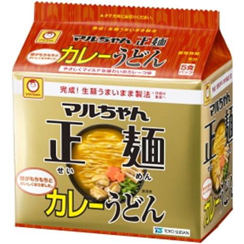 マルちゃん 正麺カレーうどん 5P×6個