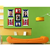 Collage Photo Frames_Exclusive Wall Decore _Wall Hangings_Set Of 7 Photo Frames_Multiple Photo Frame Edition_Diwali...