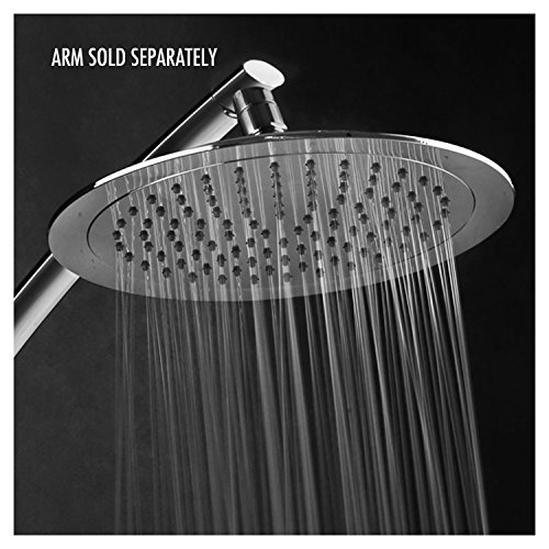 Razor Mega Size 9-inch Chrome Face Rainfall Shower Head (Round) (Bar Type Register compare prices)