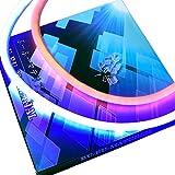 ぶーぶーマテリアル シリコンチューブ LED ライト ファイバー ブルー アンバー 青黄 ウインカー 60cm カット可能 【カーパーツ】