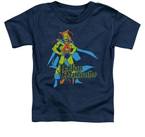 Martian Manhunter Logo Toddler T-Shirt