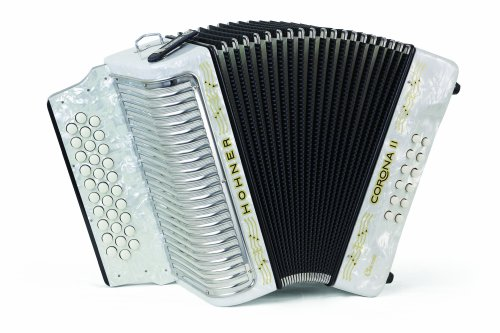 Hohner 3523AW 15.5-Inch 43-Key Accordion