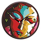 Wall Clocks - Printland Artful Wall Clock