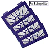 Neato XV-21 Vacuum Cleaner Filter Neato Robotic Pet & Allergy Filter - Replacement For Neato 945-0048 Filter - 4 Pack