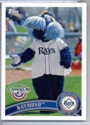2011 Topps Opening Day Mascots Baseball Card #M22 Raymond - Tampa Bay Rays - MLB Trading Card