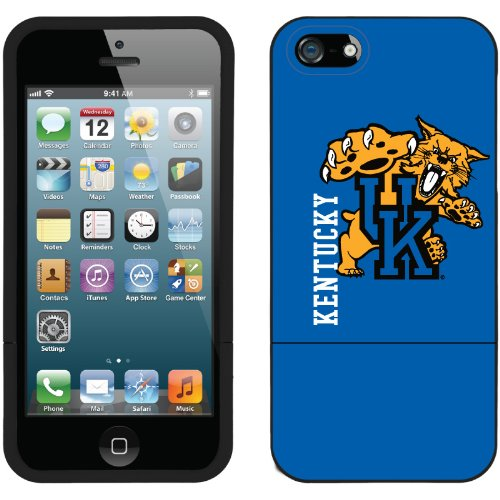 Great Sale University of Kentucky - full design on a Black iPhone 5s / 5 Slider Case by Coveroo