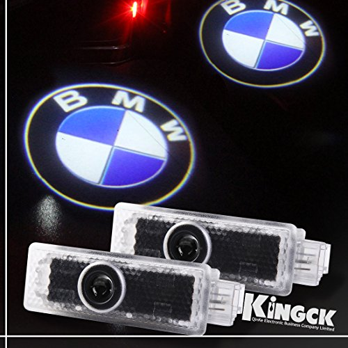 Kingck Bmw 1 Min Easy Installation No Drilling No Wiring High Definition Car Door Courtesy Light Ghost Shadow Light Logo Projector Door Step Light Pack Of 2