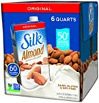 Silk Pure Almond Original, 32-Ounce A...