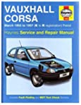 Vauxhall Corsa (93-97) Service and Re...